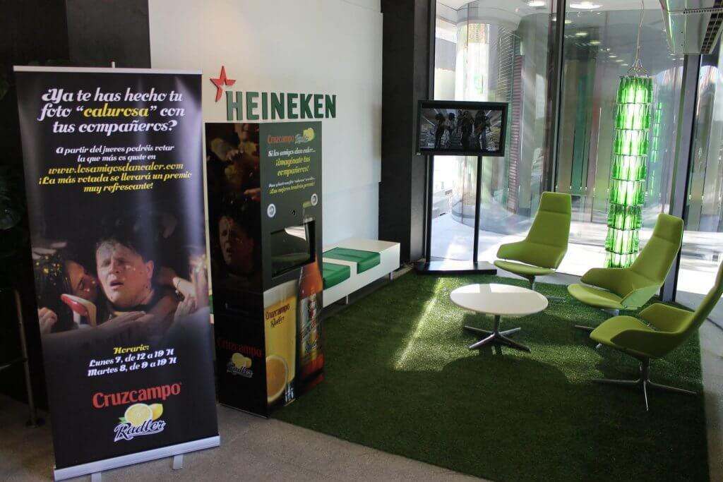 Heineken-fotomaton