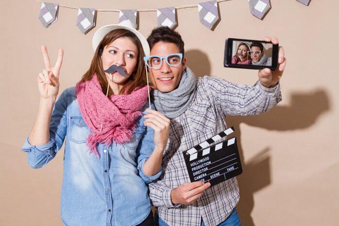 Cómo hacer una sesión de fotos glamurosas con tu fotomatón