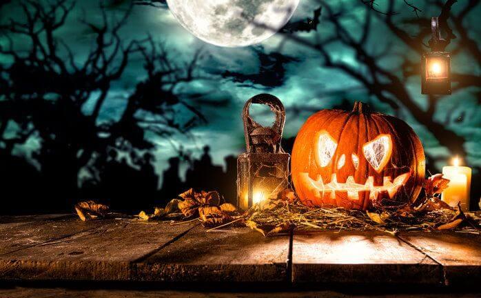 Alquiler de cabina de fotomatón para Halloween