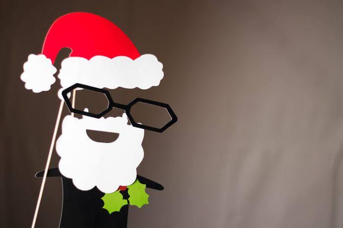 Alquiler de cabina de fotomatón para tu fiesta de navidad, noche buena, fin de año o reyes.