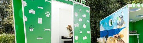 El primer fotomatón para perros del mundo