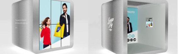 SnapFly, la cabina de fotomatón del futuro