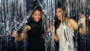 Celia-Sasic y Carli Lloyd en fotomatón premios FIFA The Best