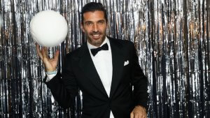 Buffon en fotomatón premios FIFA The Best
