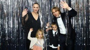 Luka Modric en fotomatón premios FIFA The Best