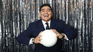 Maradona en fotomatón premios FIFA The Best