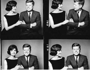 Las fotografías de fotomatón más famosas de la historia - John F Kennedy