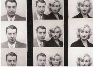 Las fotografías de fotomatón más famosas de la historia - Marilyn Monroe