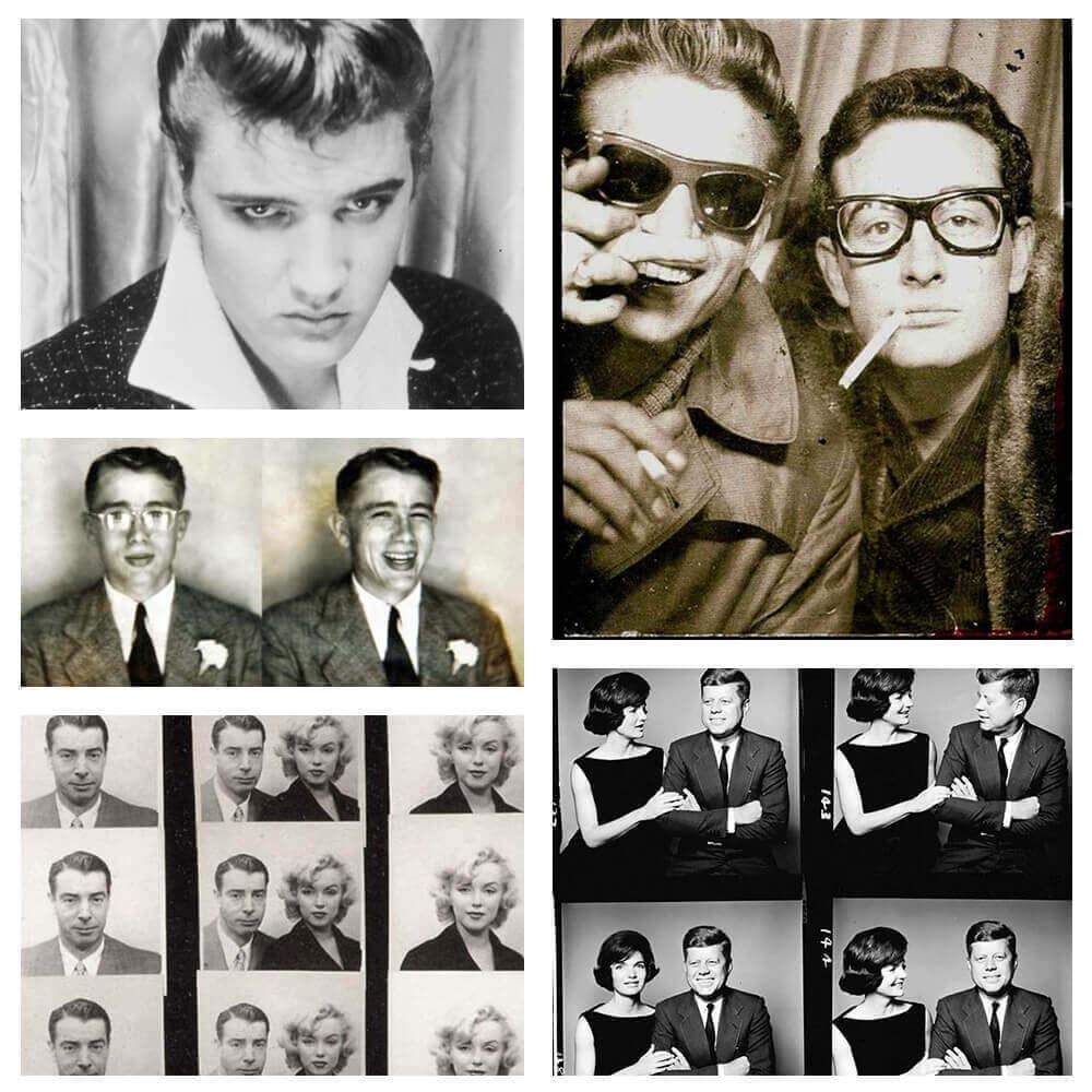 Las fotografías de fotomatón más famosas de la historia
