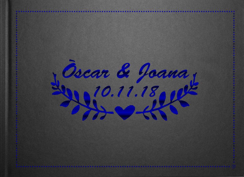 Laurel azul negro