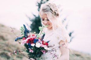 Tendencias en ramos de novias 2020 - Predomina lo asimétrico