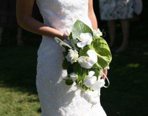 Tendencias en ramos de novias 2020 - De blanco puro